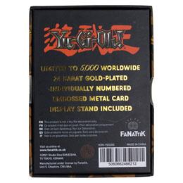 Photo du produit YU-GI-OH! RÉPLIQUE CARD EXODIA THE FORBIDDEN ONE (PLAQUÉ OR) Photo 2