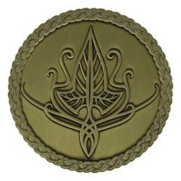 Le Seigneur des Anneaux médaillon Elven Limited Edition