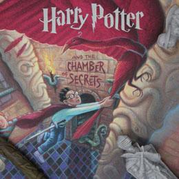 Photo du produit HARRY POTTER LITHOGRAPHIE CHAMBER OF SECRETS BOOK COVER ARTWORK LIMITED EDITION 42 X 30 CM Photo 1