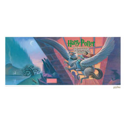 HARRY POTTER LITHOGRAPHIE PRISONER OF AZKABAN BOOK COVER ARTWORK LIMITED EDITION 42 X 30 CM