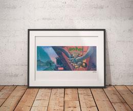Photo du produit HARRY POTTER LITHOGRAPHIE PRISONER OF AZKABAN BOOK COVER ARTWORK LIMITED EDITION 42 X 30 CM Photo 2