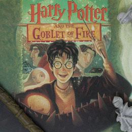 Photo du produit HARRY POTTER LITHOGRAPHIE GOBLET OF FIRE BOOK COVER ARTWORK LIMITED EDITION 42 X 30 CM Photo 1
