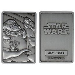 Photo du produit Star Wars Lingot Iconic Scene Collection Jabba the Hut Limited Edition Photo 1