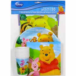 Photo du produit PACK ANNIVERSAIRE DISNEY WINNIE L'OURSON