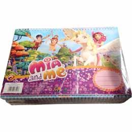 Cahier de dessin Mia et Moi