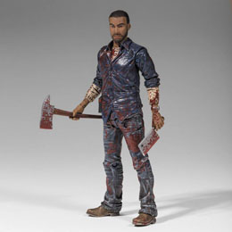 THE WALKING DEAD FIGURINE LEE EVERETT (BLOODY) 15 CM