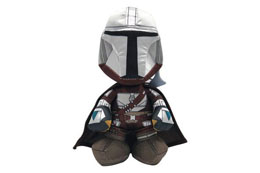 STAR WARS THE MANDALORIAN PELUCHE WARRIOR 25 CM