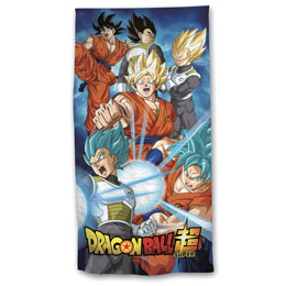 SERVIETTE DE BAIN DRAGON BALL SUPER EN MICROFIBRE