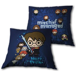 Coussin Mischief Managed Chibi Harry Potter