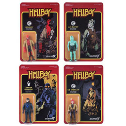 HELLBOY REACTION WAVE 1 4 FIGURINES 10 CM