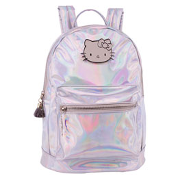 SAC À DOS HELLO KITTY METALLIC 33CM