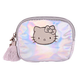 PORTE MONNAIE HELLO KITTY METALLIC
