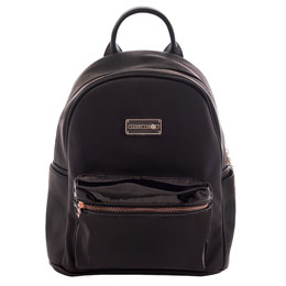 SAC A DOS MARSHMALLOW HAMPTONS BLACK COLLECTION