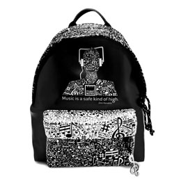 SAC A DOS MUSIC BACKPACK 30CM