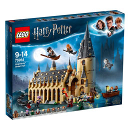 LEGO HARRY POTTER - LA GRANDE SALLE DU CHÂTEAU DE POUDLARD