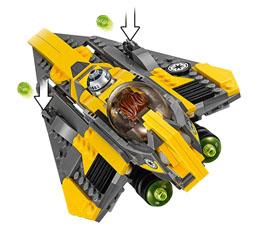 Photo du produit LEGO STAR WARS - ANAKIN'S JEDI STARFIGHTER Photo 4