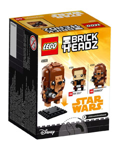 Photo du produit LEGO BRICKHEADZ STAR WARS SOLO - CHEWBACCA Photo 2