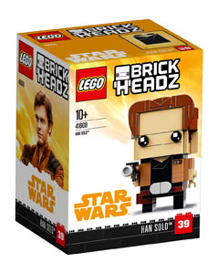 Photo du produit LEGO BRICKHEADZ STAR WARS SOLO -  HAN SOLO Photo 1