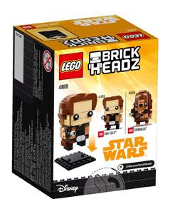 Photo du produit LEGO BRICKHEADZ STAR WARS SOLO -  HAN SOLO Photo 2