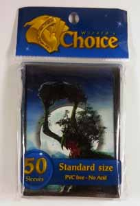 50 PROTEGES CARTE - WIZARD'S CHOICE PICTURE STANDARD SLEEVES - RAGING TREEMAN