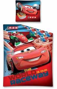 Photo du produit Parure de lit Disney Cars 160 x 200 cm