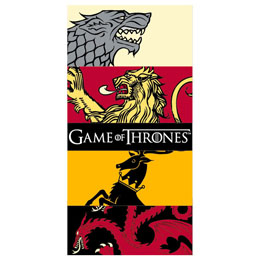 SERVIETTE DE PLAGE HBO GAME OF THRONES