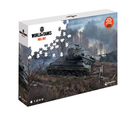PUZZLE WORLD OF TANKS ON THE PROWL (1000 PIECES)