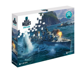 PUZZLE WORLD OF TANKS PAN-ASIAN DESTROYERS (1000 PIECES)