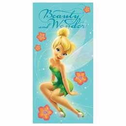 SERVIETTE DE BAIN FEE CLOCHETTE DISNEY