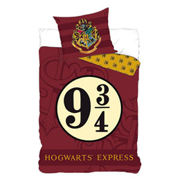 PARURE DE LIT HARRY POTTER HOGWARTS 9 3/4