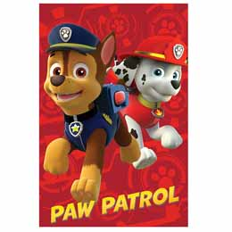 PAW PATROL PLAID PAT PATROUILLE MARSHALL CHASE