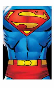 DC COMICS PLAID SUPERMAN