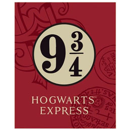 PLAID HOGWARTS EXPRESS HARRY POTTER
