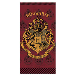 SERVIETTE DE BAIN HOGWARTS HARRY POTTER 100% COTON