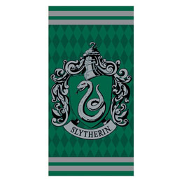 SERVIETTE DE BAIN SLYTHERIN HARRY POTTER 100% COTON