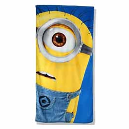 Photo du produit SERVIETTE DE BAIN MINIONS PORTRAIT