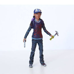 THE WALKING DEAD FIGURINE CLEMENTINE (BLOODY) 9 CM