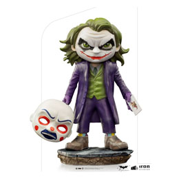 THE DARK KNIGHT FIGURINE MINI CO. PVC THE JOKER 15 CM