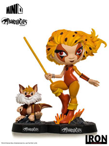 THUNDERCATS FIGURINE MINI CO. PVC CHEETARA & SNARF 13 CM