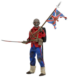 NECA IRON MAIDEN FIGURINE RETRO TROOPER EDDIE 20 CM