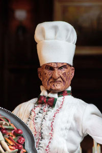 Photo du produit NIGHTMARE ON ELM STREET 5 FIGURINE RETRO CHEF FREDDY 20 CM Photo 1