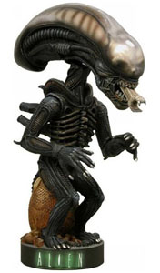 FIGURINE ALIEN EXTREME HEAD KNOCKER ACTION FIGURE