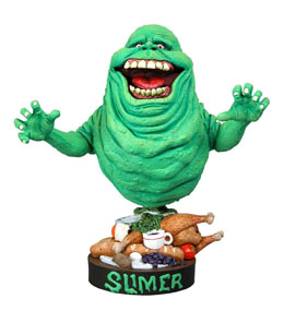 FIGURINE SOS FANTÔMES HEAD KNOCKER SLIMER 18 CM