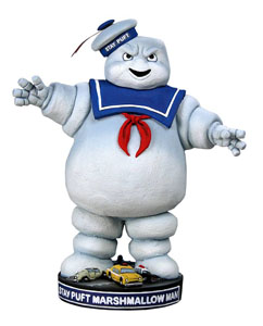 FIGURINE SOS FANTÔMES HEAD KNOCKER STAY PUFT 18 CM