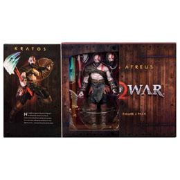 Photo du produit GOD OF WAR (2018) PACK 2 FIGURINES ULTIMATE KRATOS & ATREUS 13-18 CM Photo 2