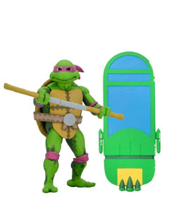 LES TORTUES NINJA: TURTLES IN TIME SÉRIE 1 FIGURINE DONATELLO 18 CM
