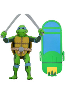 LES TORTUES NINJA: TURTLES IN TIME SÉRIE 1 FIGURINE LEONARDO 18 CM