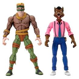 Photo du produit Les Tortues ninja pack 2 figurines Rat King & Vernon 18 cm Photo 1