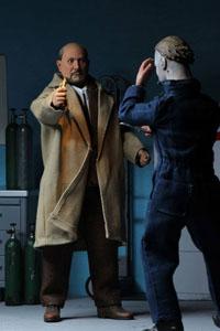 Photo du produit Halloween 2 Le Masque pack 2 figurines Retro Doctor Loomis & Laurie Strode 20 cm Photo 1