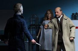Photo du produit Halloween 2 Le Masque pack 2 figurines Retro Doctor Loomis & Laurie Strode 20 cm Photo 3